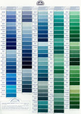 823/Perle Fil de Coton DMC 115/5 Taille 5 Bleu Marine fonc/é