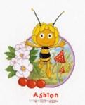 Tableau de naissance Maya l'abeille - Vervaco