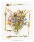 Bouquet champêtre et blé - Lanarte