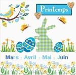Tableau de printemps - Princesse