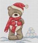 Bruno joue dans la neige - LUCA-S
