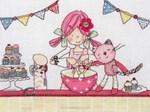 Emily Button baking - Anchor