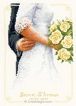 Bouquet de mariée - Vervaco