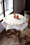 Nappe feuilles colorées - Vervaco