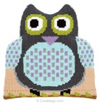 Coussin forme Chouette - Vervaco