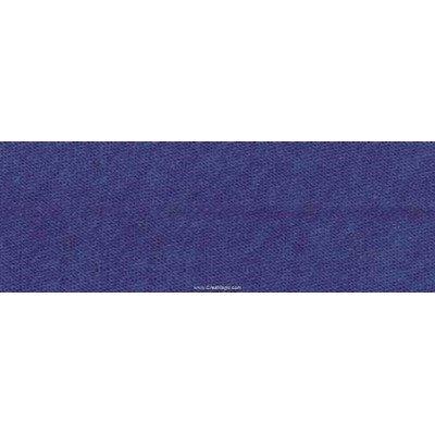 Biais Jersey coton Bob 20M replié en 2 de largeur 20-9.5mm - bleu - Fillawant