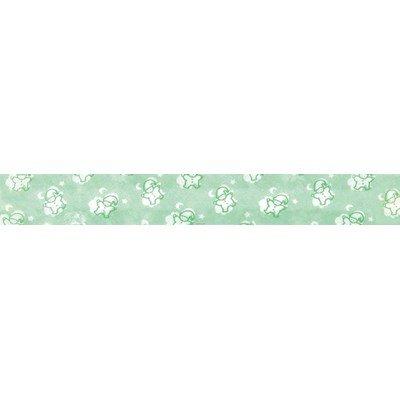 Biais lutins vert rouleau 20M replié en 2 de largeur 20-9.5mm - Fillawant