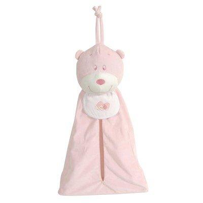 Porte couche ou Range Pyjama - rose - DMC
