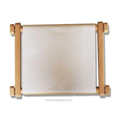 Métiers à broder rotatifs à clips Nouvelle génération Dim 30x40 cm + Sac de rangement offert - Luca-S