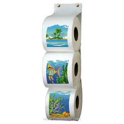 Range papier toilette la mer - Luc Création