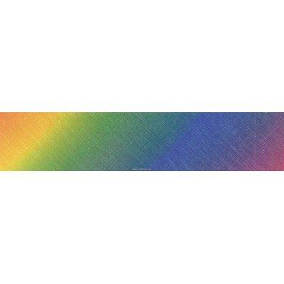 Biais arc en ciel  rouleau 20M replié en 2 de largeur 20-9.5mm - Fillawant