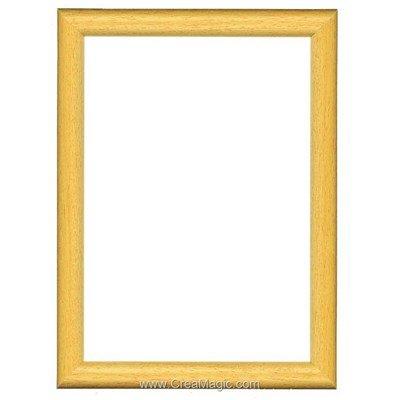 Cadre en bois  clair 10 x 13 cm - Vervaco