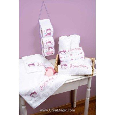 Enveloppe de boite à mouchoir  Hello Kitty - Vervaco
