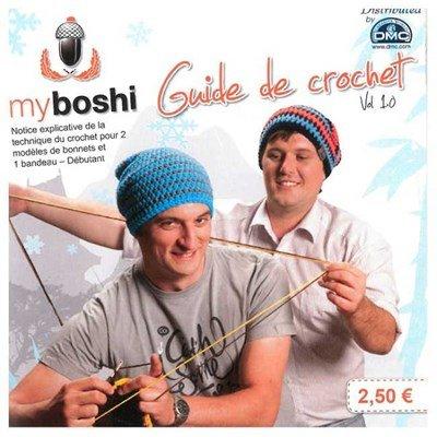 Le mini-livre myboshi 3 créations créations - DMC