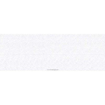 Biais Jersey coton Bob 20M replié en 2 de largeur 20-9.5mm - Blanc - Fillawant