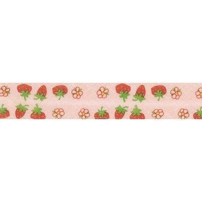 Biais fraises piécette de 3M replié en 2 de largeur 20-9.5mm - Fillawant