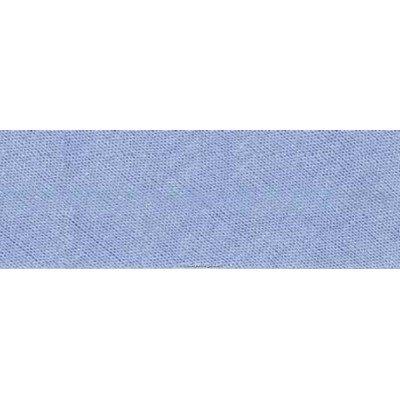 Biais Jersey coton Bob 20M replié en 2 de largeur 20-9.5mm - Bleu ciel - Fillawant