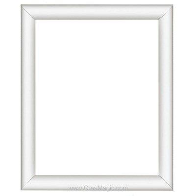 Cadre en plastique blanc 13 x 18 cm - Vervaco