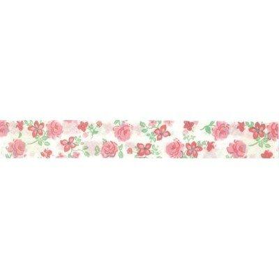 Biais Rose rose  rouleau 20M replié en 2 de largeur 20-9.5mm - Fillawant