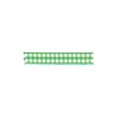 Ruban vichy largeur 5mm Vert - Fillawant