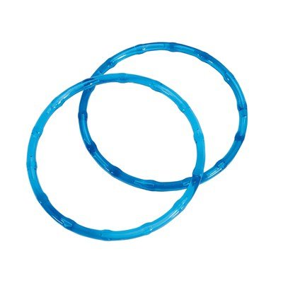 Anse ronde plastique - Couleur Bleues - DMC