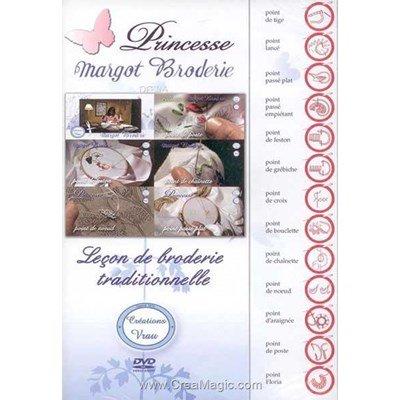 DVD Leçon de broderie traditionelle - Princesse