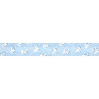 Biais lutins bleu piécette 3M replié en 2 de largeur 20-9.5mm - Fillawant
