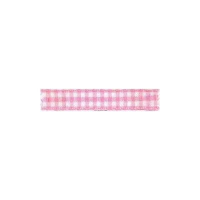 Ruban vichy largeur 5mm Rose - Fillawant