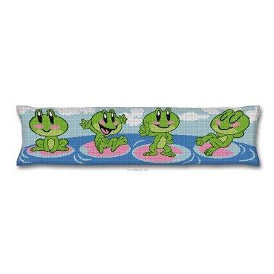 Bas de porte les grenouilles en fête - Luc Création