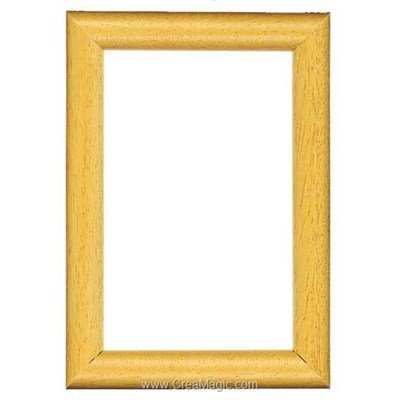 Cadre en bois  clair 8 x 12 cm - Vervaco