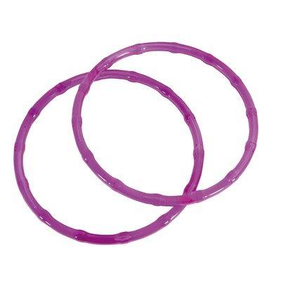 Anse ronde plastique - Couleur Roses - DMC