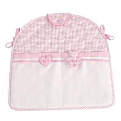 Porte pyjama rose Mon petit coeur - DMC