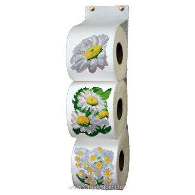 Range papier toilette marguerites - Luc Création