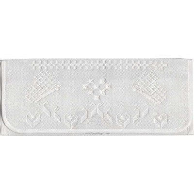 Pochette serviette papillons - Princesse