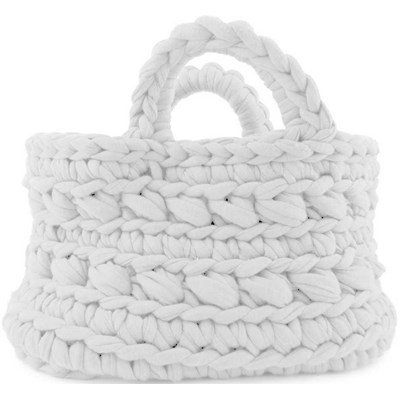 Sac Hoooked REVISTO - couleur Blanc - DMC