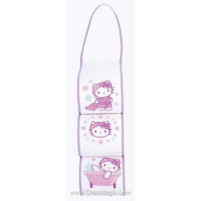 Range papier toilette  Hello Kitty - Vervaco