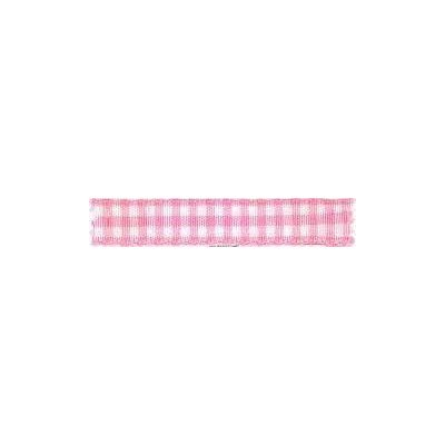 Ruban vichy largeur 10mm Rose - Fillawant