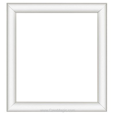 Cadre en plastique blanc 13 x 16 cm - Vervaco