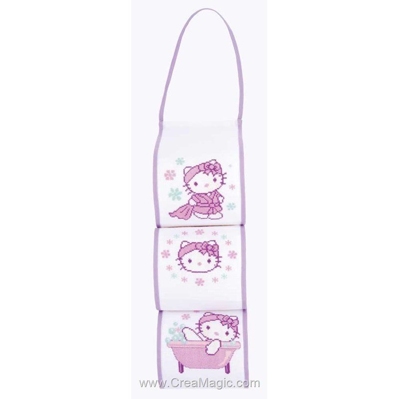 Range papier toilette hello kitty pn 0149236 supports for Range papier toilette
