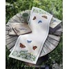 Chemin de table white anemones and butterflies runner - Anchor - Anchor