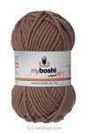 Pelote de laine myboshi DMC n°172 - ocre