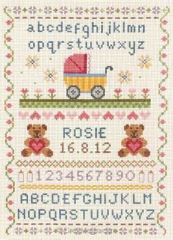 Anchor point de croix ab c daire naissance classique - Grille abecedaire point de croix gratuit ...