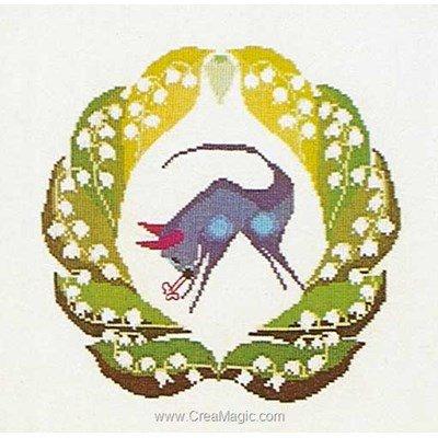 Kit broderie taurus sur lin - Thea Gouverneur