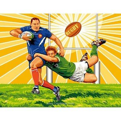 Rugby canevas chez Mimo Verde