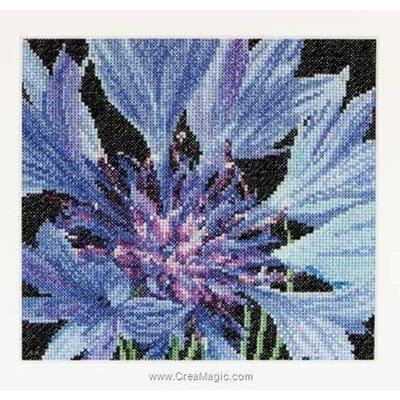 Kit tableau Thea Gouverneur point de croix cornflower sur aida