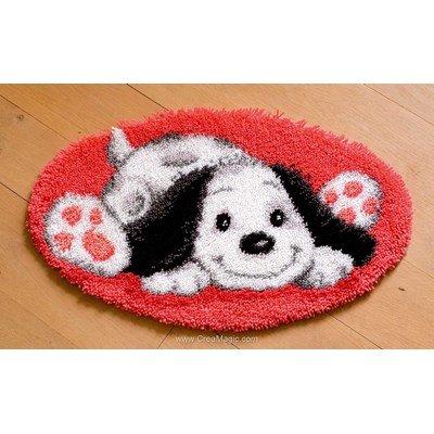 Kit tapis point noue mon ami le chien de Vervaco