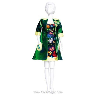 Set couture betty jungle DRESS YOUR DOLL pour barbie