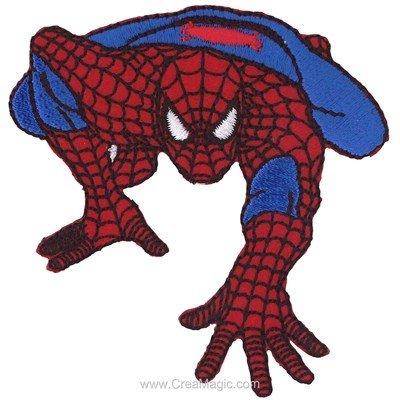 Ecusson motif thermocollant spiderman l'homme araigné - MLWD