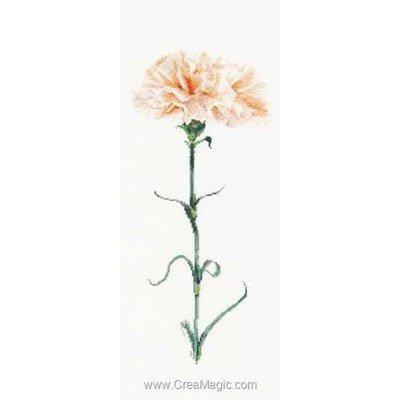 Kit Thea Gouverneur à broder carnation peach sur lin