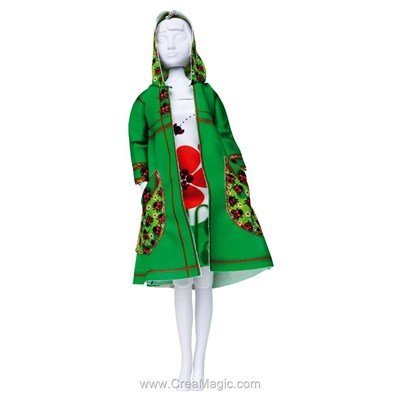 Set couture fanny ladybug DRESS YOUR DOLL